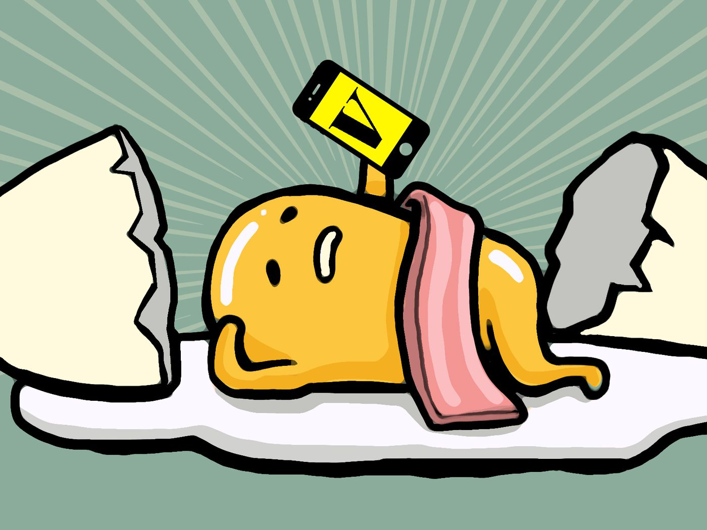 How Gudetama A Lazy Egg Yolk With Butt Became An Unstoppable Cultural Phenomenon
