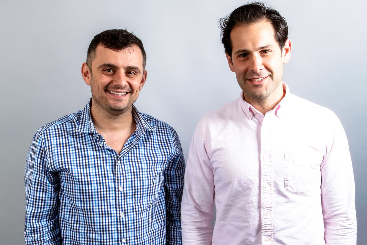 Resy founders Gary Vaynerchuk and Ben Leventhal.