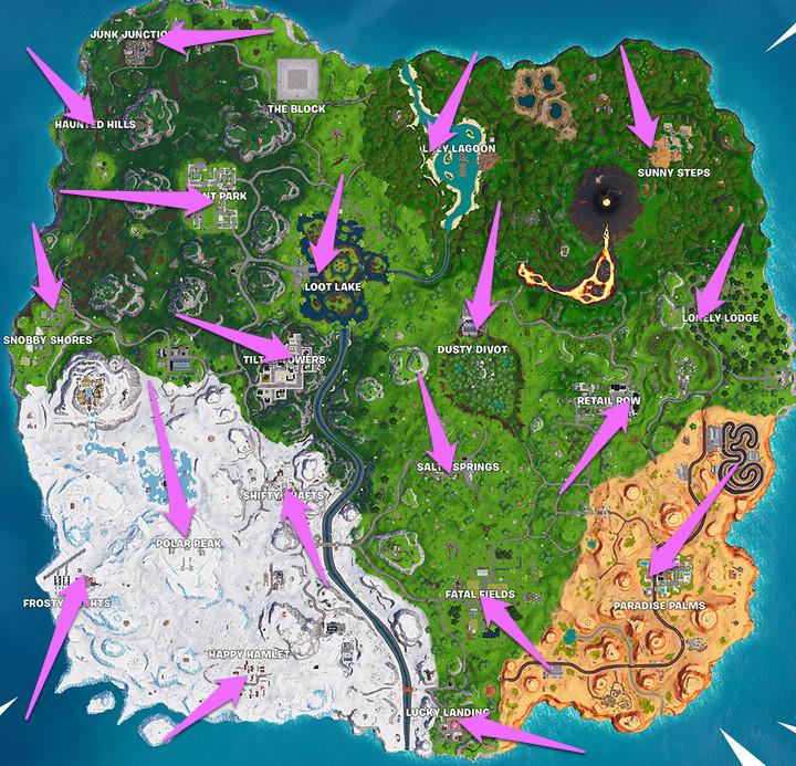Fortnite Reboot Van locations patch v8.30