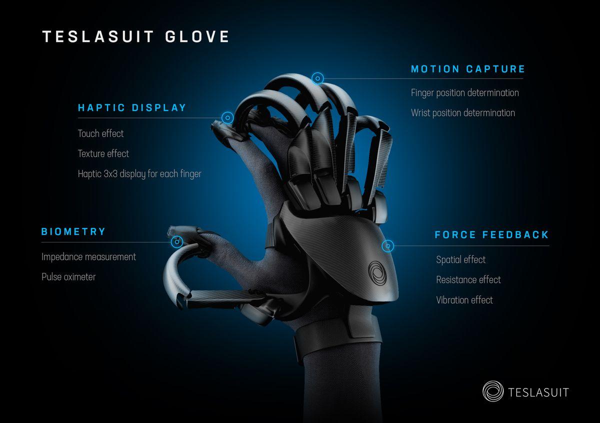 Teslasuit Glove Image du produit