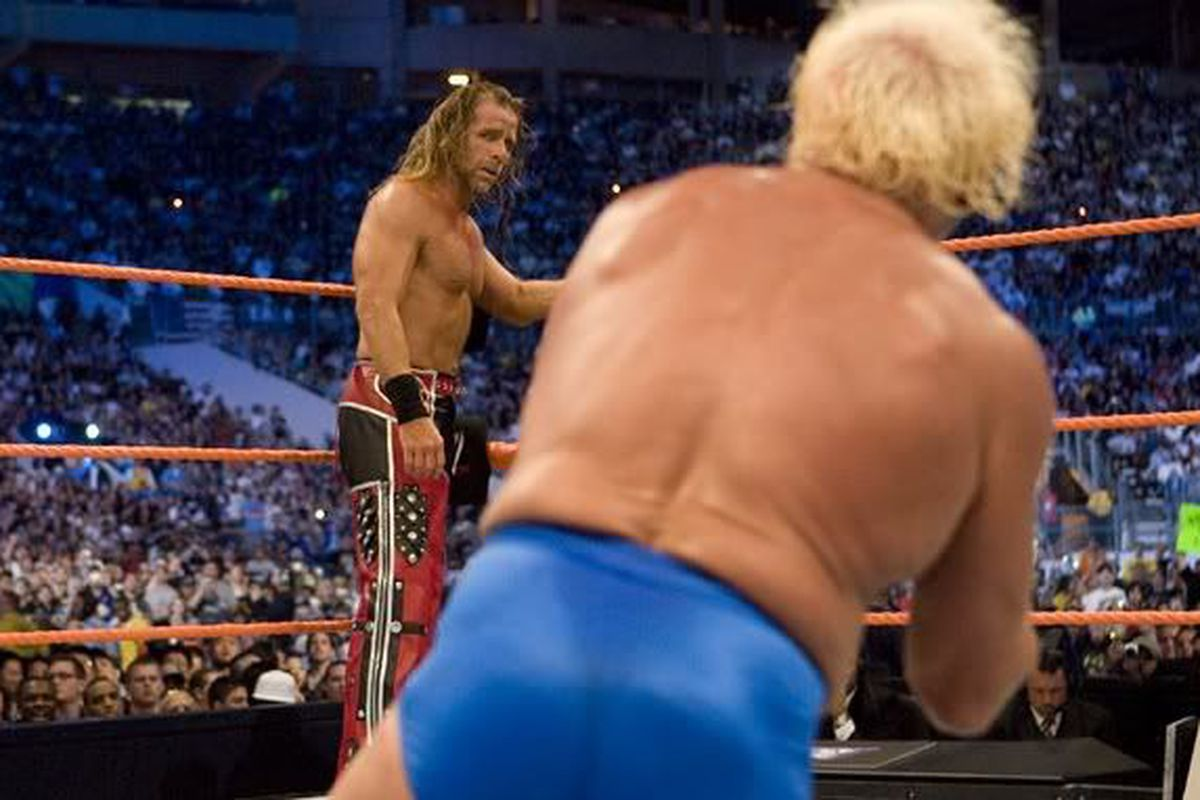 shawn michaels vs ric flair ending relationship