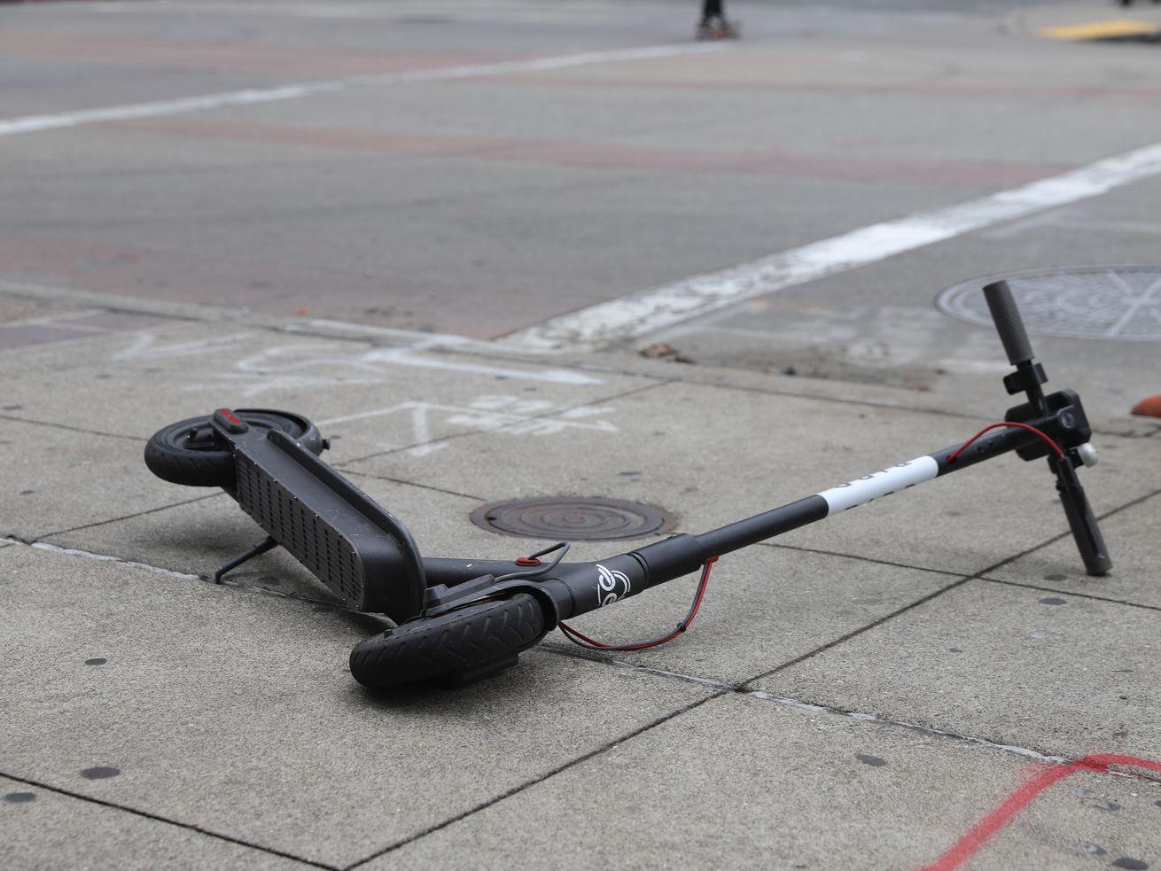 """Can autonomous scooters solve sidewalk clutter"""""""
