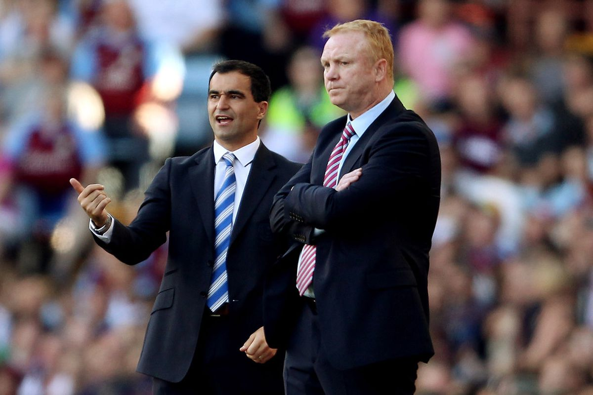 Wigan's Roberto Martinez is rumored to have turned down Aston Villa during the past Summer. Instead, Villa got Alex McLeish...