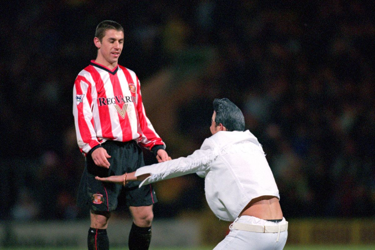 An Elvis Impersonator and Kevin Phillips