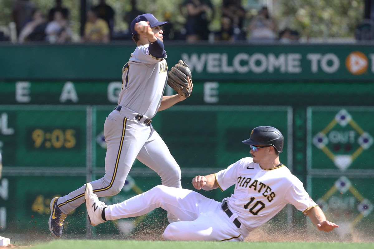 MLB: Game 1-Milwaukee Brewers at Pittsburgh Pirates