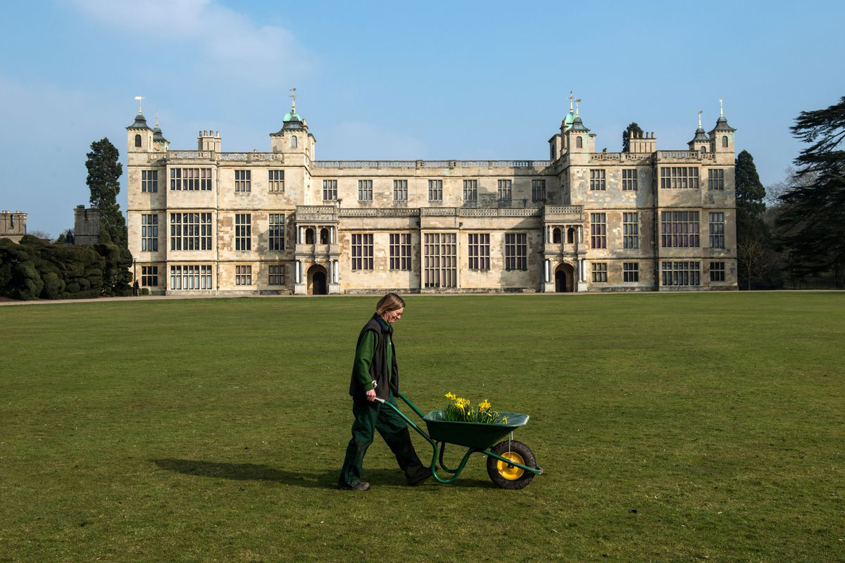 Spring Cleaning Takes Place At English Heritage Properties Around The UK