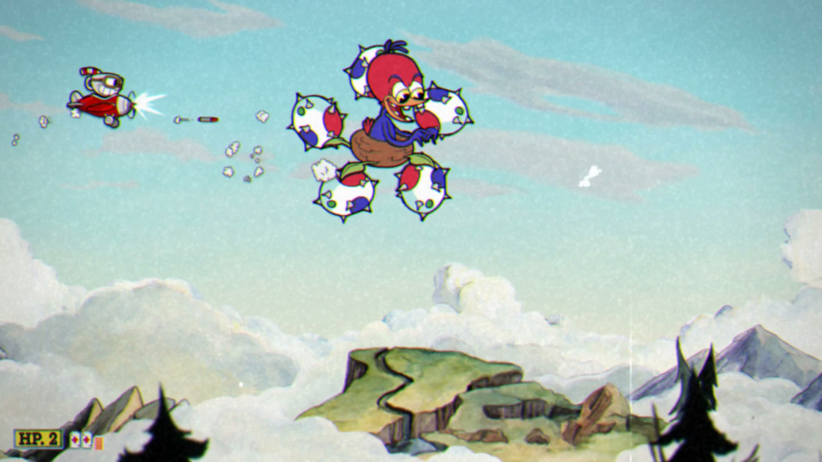 cuphead boss guide wally warbles in aviary action polygon