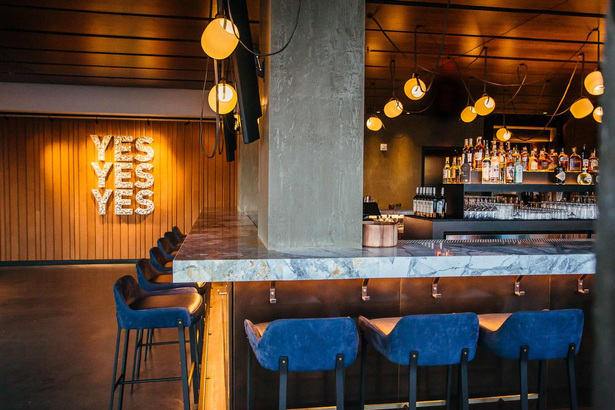 12 Stories Rooftop Bar Opens In Style In The Wharf Intercontinental Eater Dc