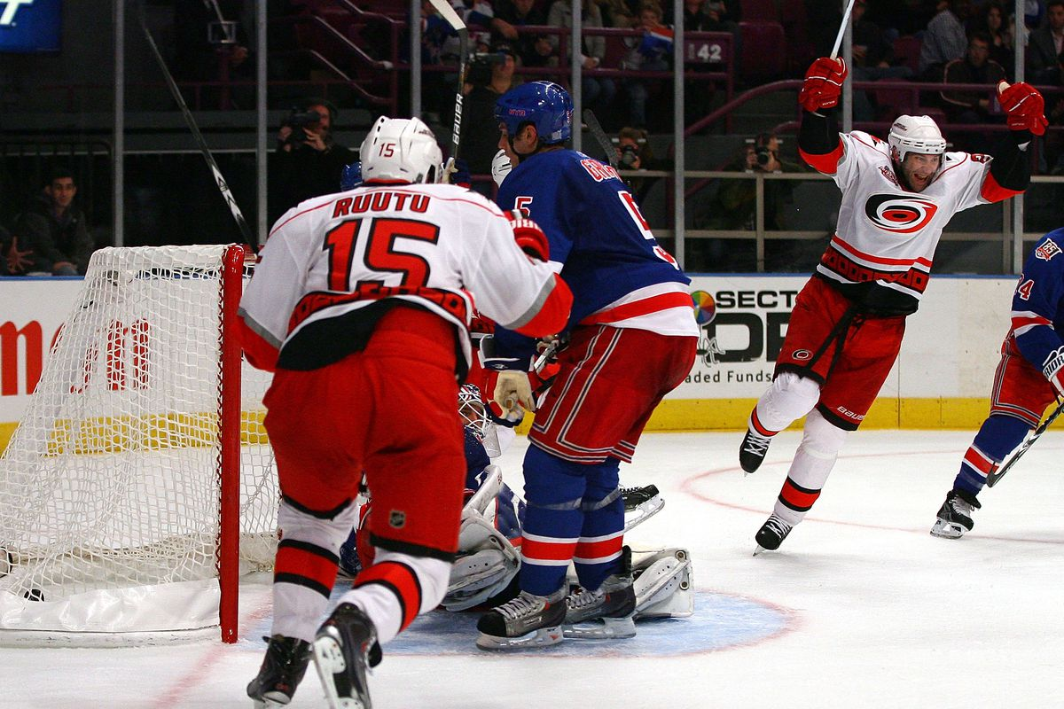 2a10323c453 Carolina Hurricanes at New York Rangers: Lineups and Game Discussion