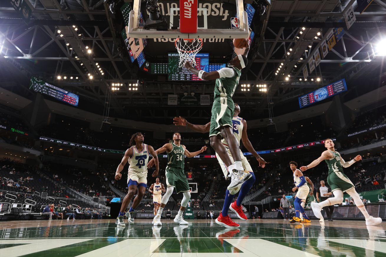 Philadelphia 76ers v Milwaukee Bucks