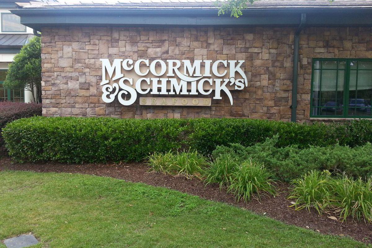McCormick & Schmick's Dunwoody.