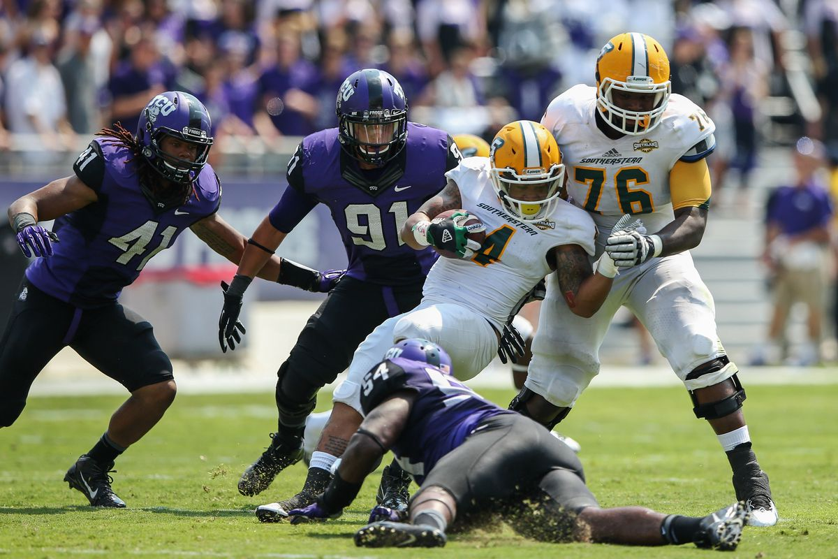 There were no TCU vs. SFA photos in our database, so we've got this