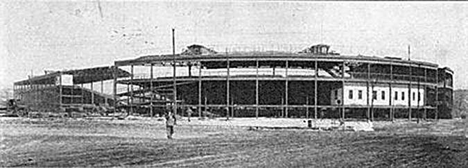 1922-23 wrigley relocation