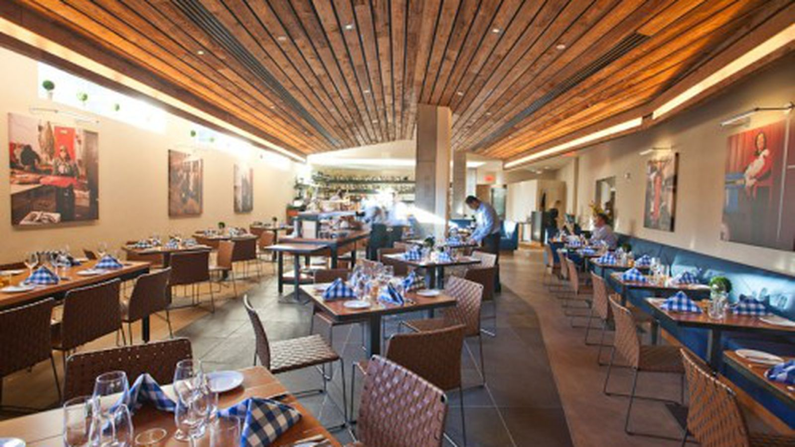 David Burke Kitchen The Garden Inside David Burke Kitchen At The James Hotel Eater Ny
