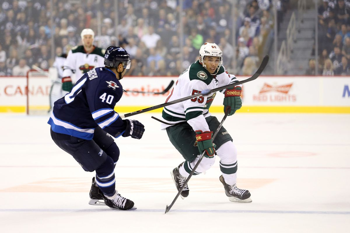 The dynamic Mathew Dumba makes his NHL debut tonight.