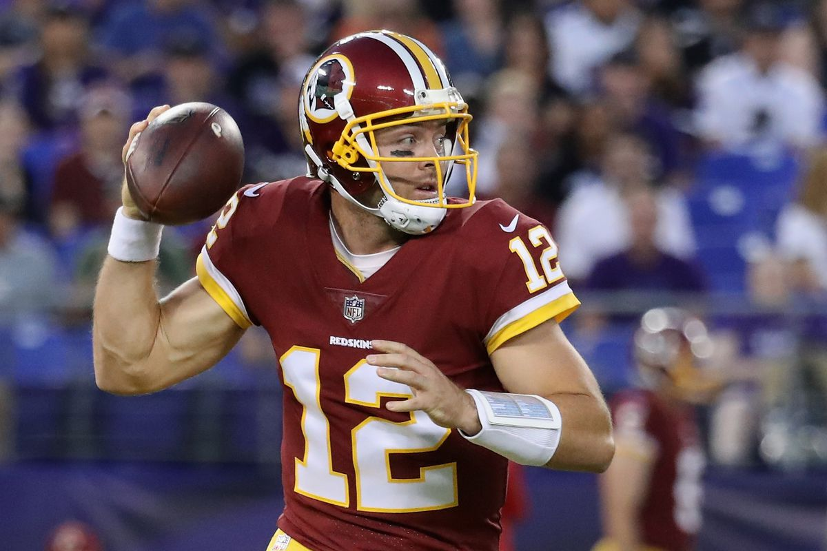 huge selection of a3164 9fc75 Colt McCoy returns to Redskins following 3rd surgery on ...