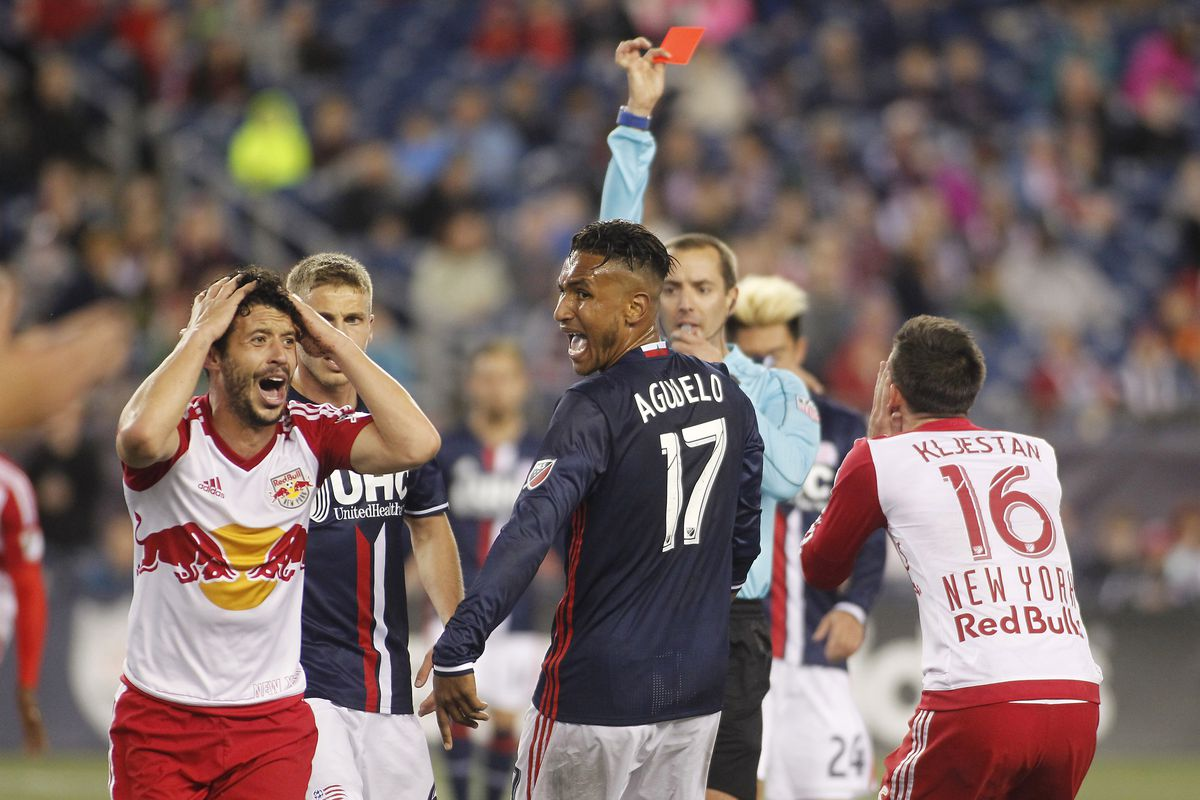 Felipe is just one of many MLS players and coaches in disbelief about the surge of red cards
