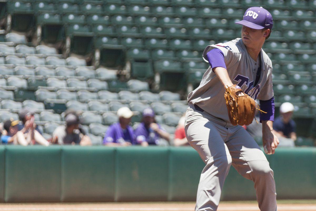 TCU Baseball vs Baylor   Big 12 Championship   May 27, 2018