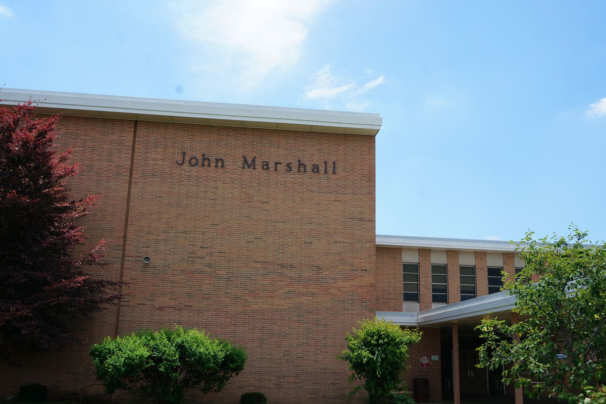 John Marshall High School will convert to a middle school next year.