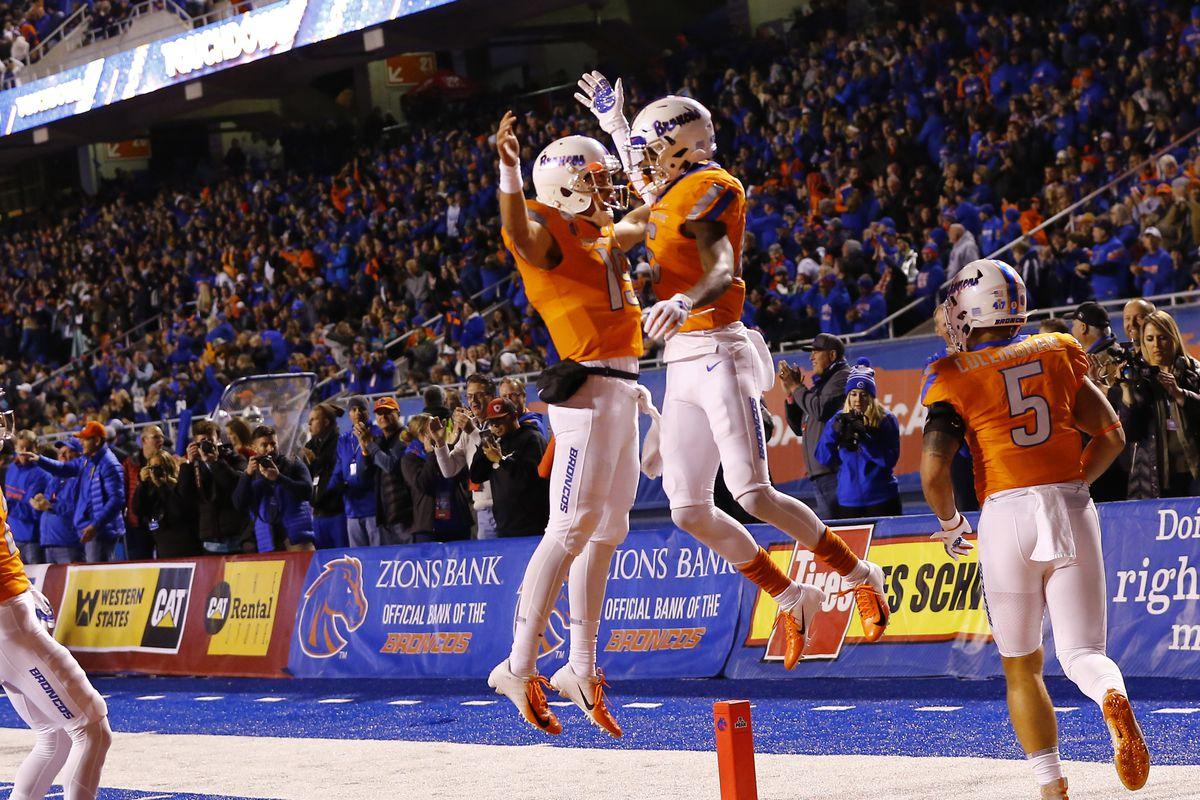 NCAA Football: Hawaii at Boise State