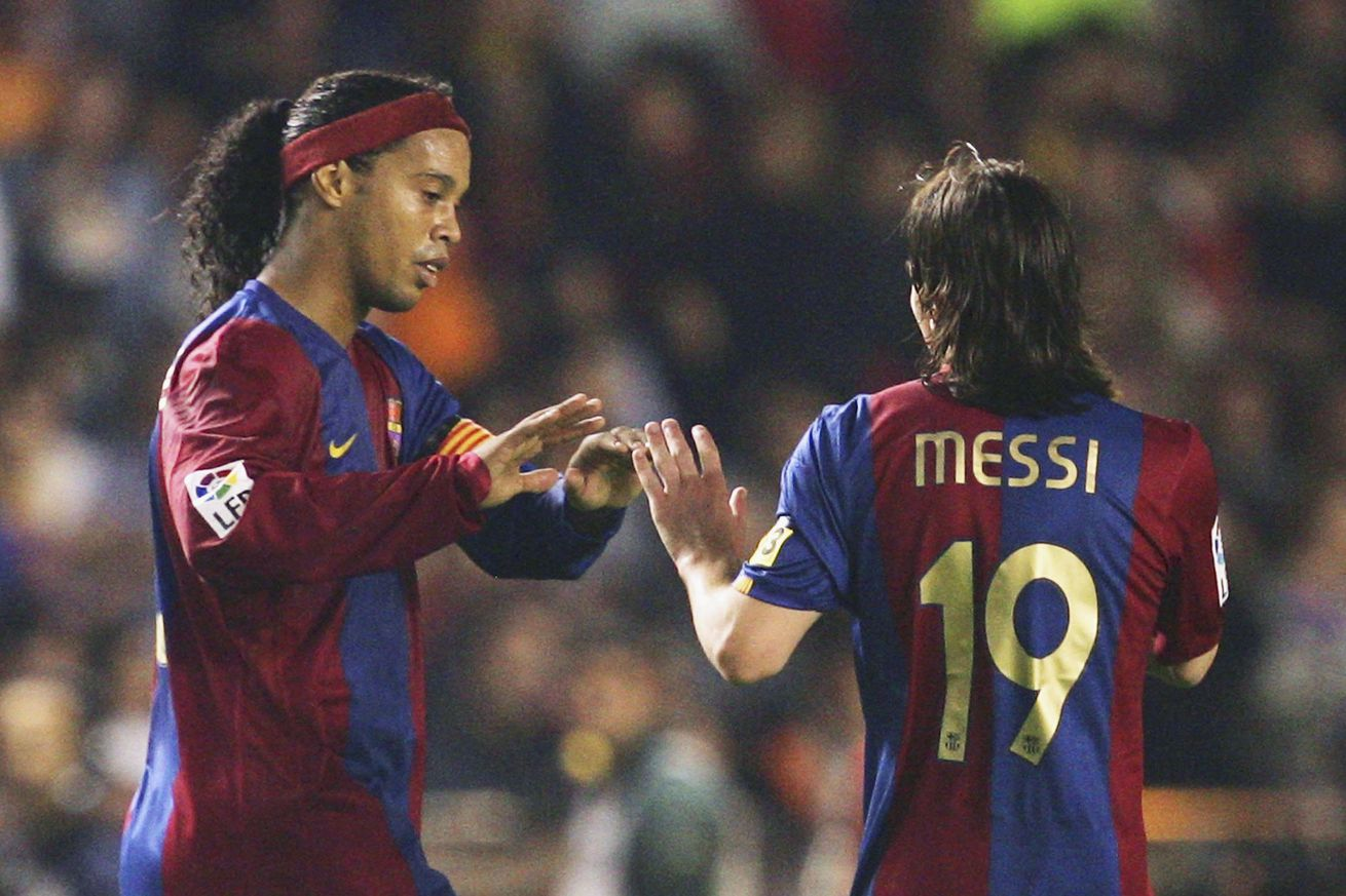Ronaldinho on how Barca can cope with life after Messi