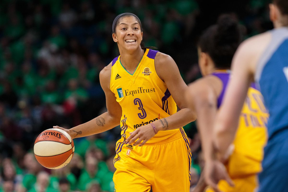 WNBA semifinals: Candace Parker thrives in spotlight as ...