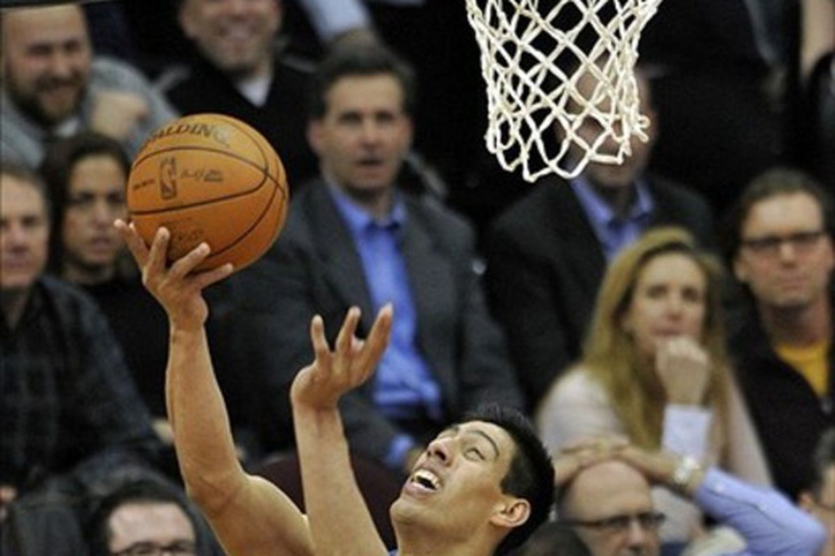 Gustavo Ayon leads the NBA in reverse layups (not really).