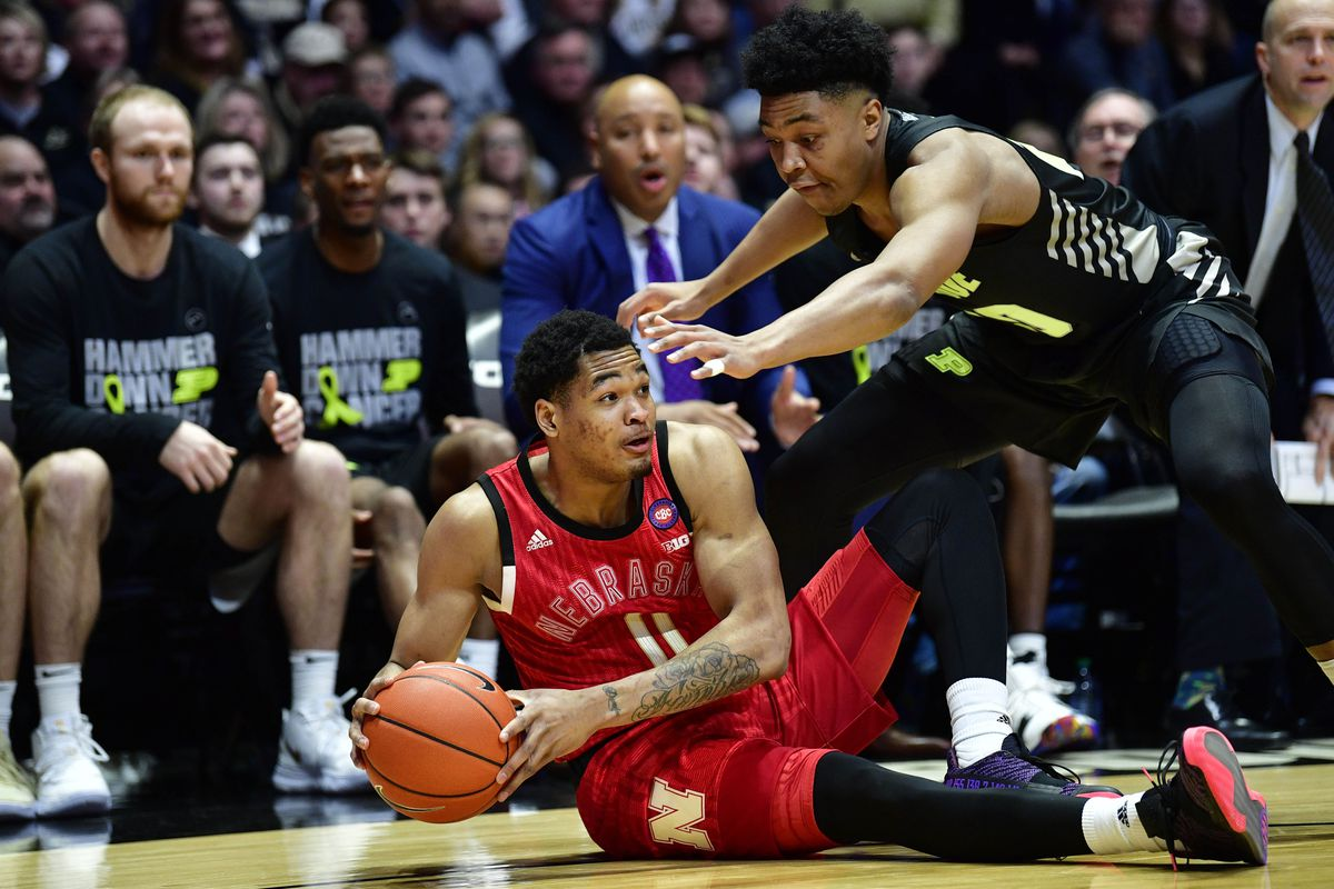 """0abf1ceb9a0f Nebrasketball  """"Best Game in Awhile"""" Sees Huskers Lose By 19 To Purdue"""
