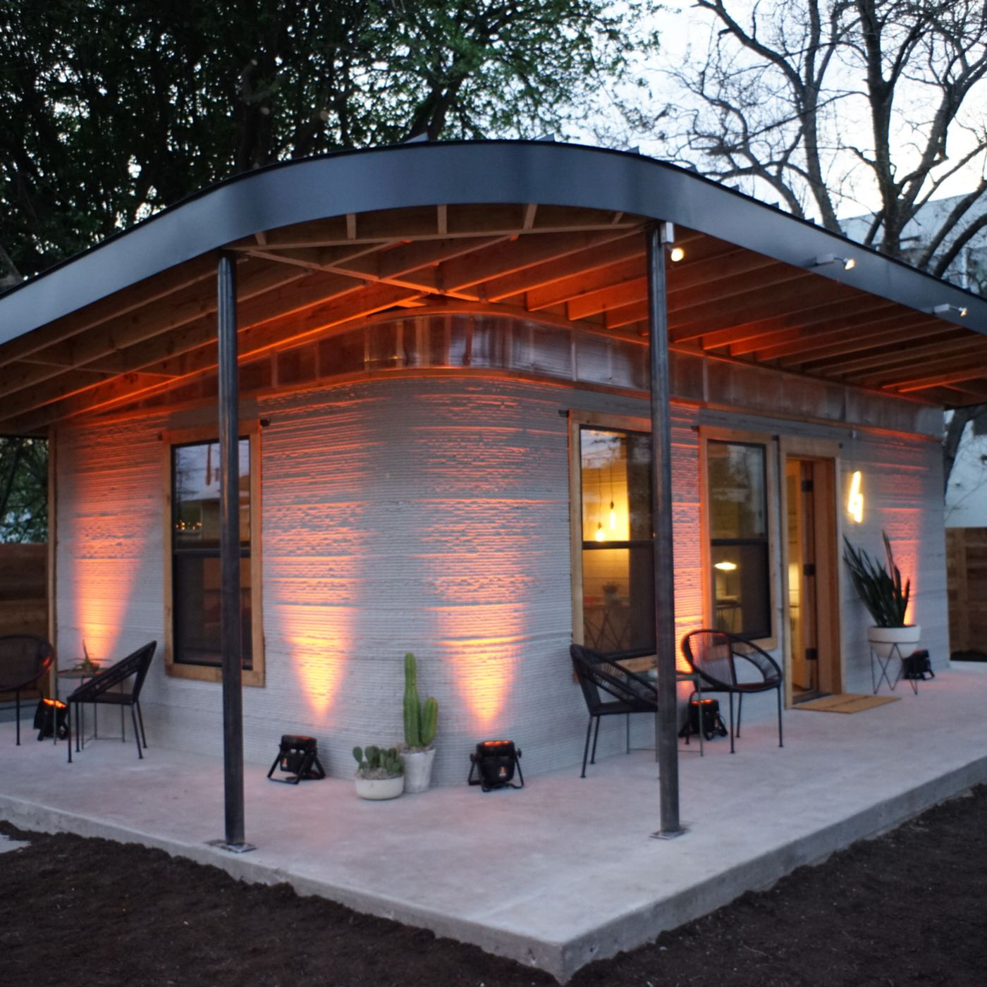 This cheap 3d printed home is a start for the 1 billion who lack shelter