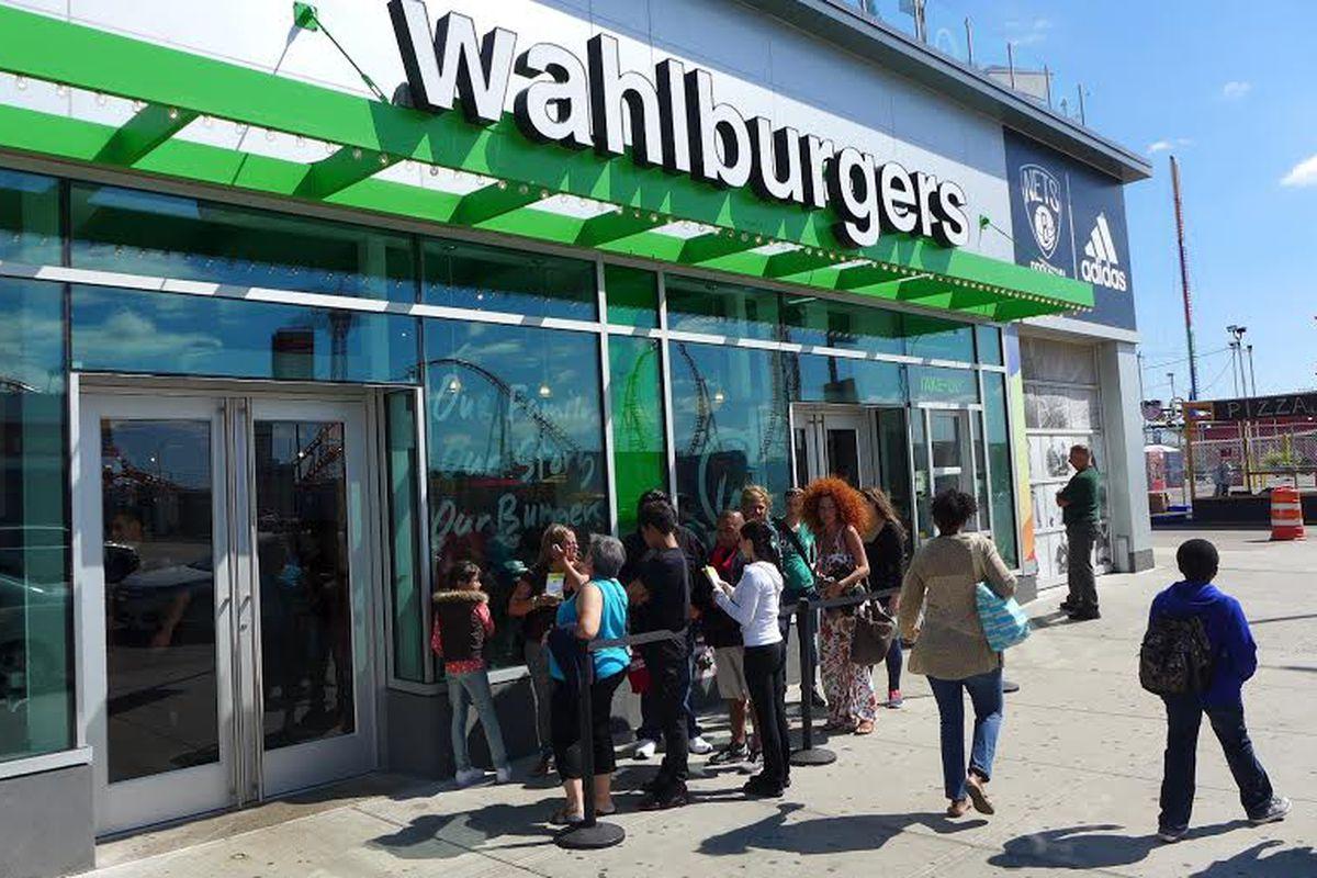 Walburgers, Coney Island.