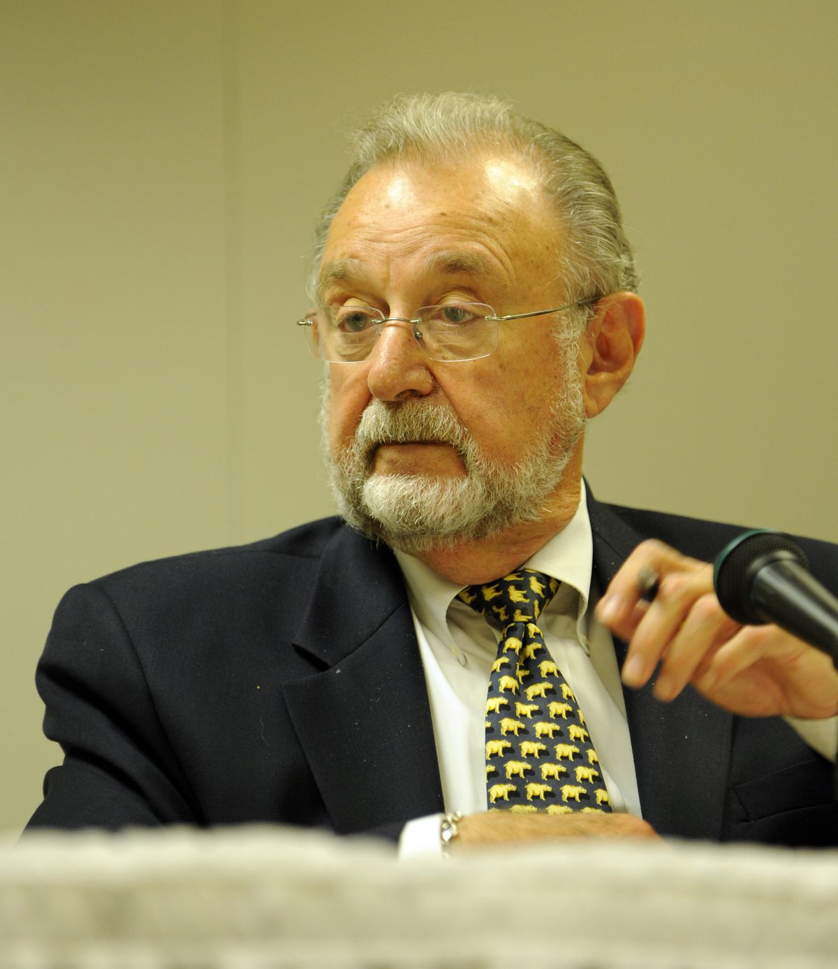 Former Illinois Gaming Board chairman Aaron Jaffe pictured in June 2011.