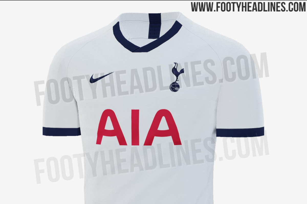 new style 53cbd dfab9 Tottenham's 2019-20 home kits leak and this time they aren't ...