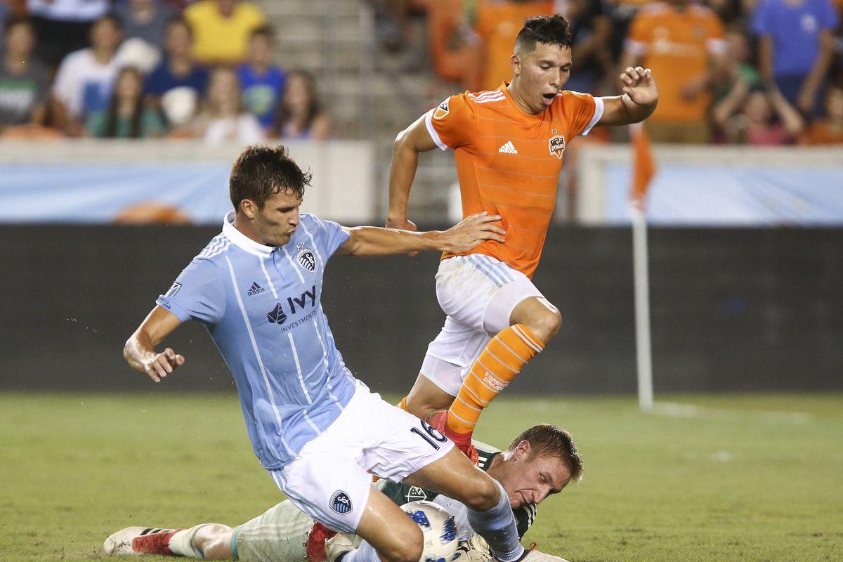 MLS: U.S. Open Cup Quarterfinal-Houston Dynamo vs Sporting KC