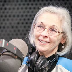 Democat Dr. Kathie Allen is pictured during an on-air debate between 3rd Congressional District candidates hosted by KSL Newsradio's Doug Wright in Salt Lake City on Tuesday, Oct. 10, 2017. Allen is vying to fill the remaining year of former GOP Rep. Jason Chaffetz's term. Chaffetz, now a Fox News contributor, resigned June 30.