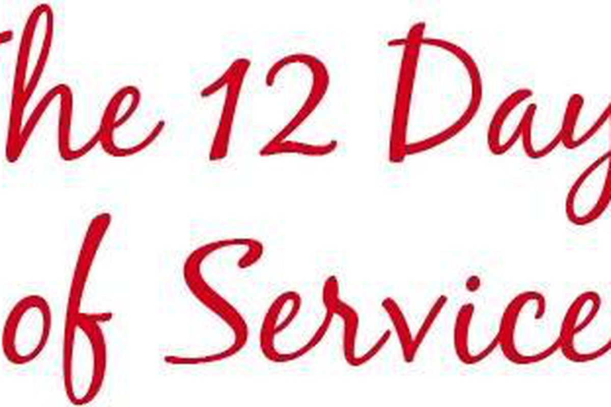 The 12 Days of Service could change the way you think of the holidays.