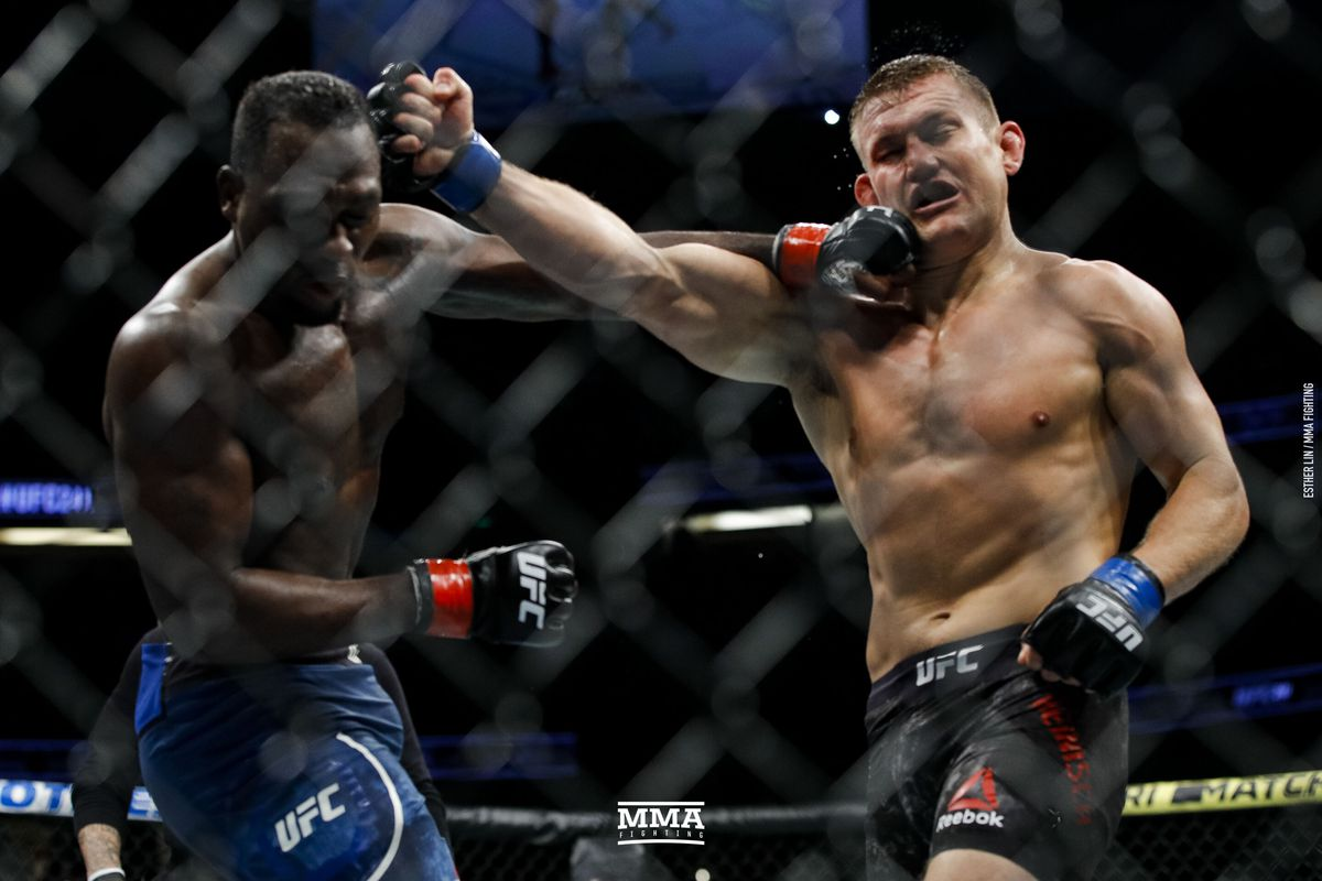 UFC 241 results: Derek Brunson out works Ian Heinisch to notch second straight win