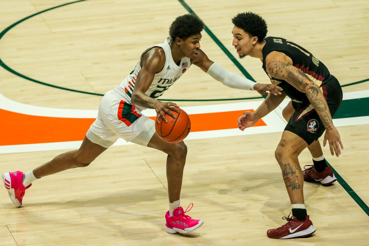 NCAA Basketball: Florida State at Miami-Florida