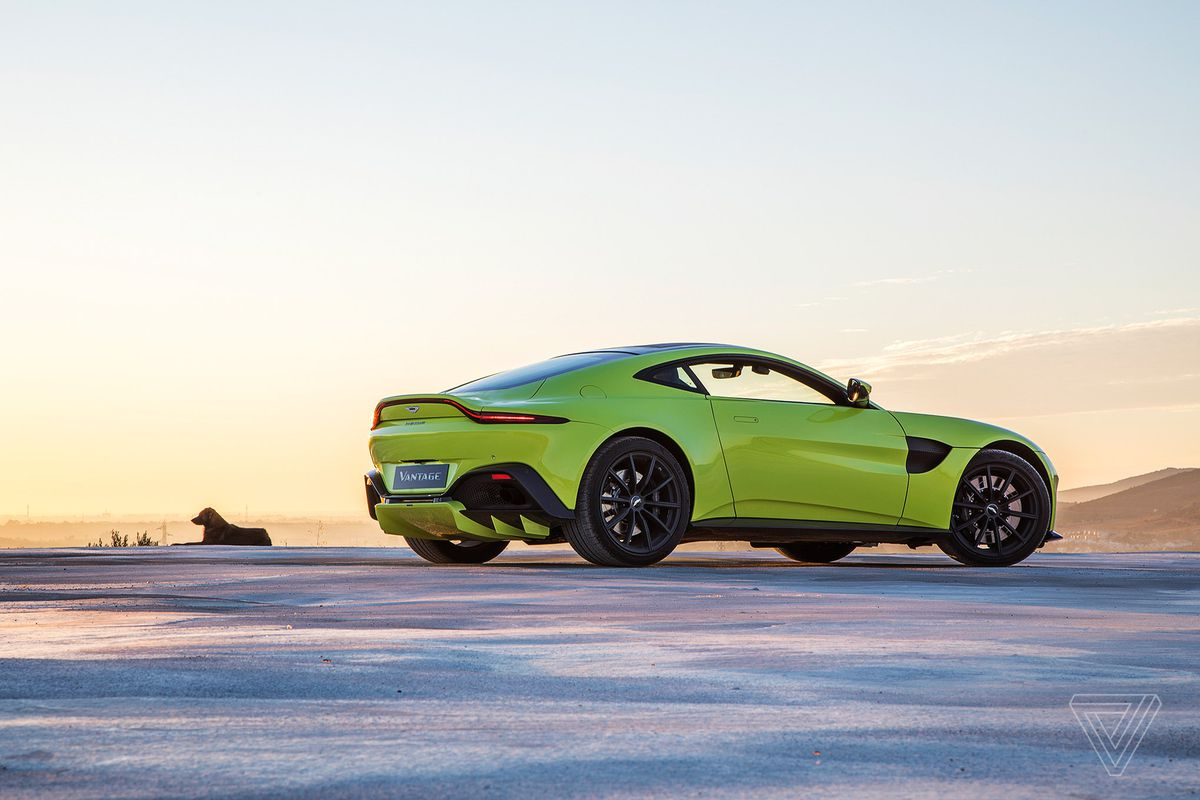 Aston Martin Shows Off A New Vantage The Verge - 06 aston martin vantage