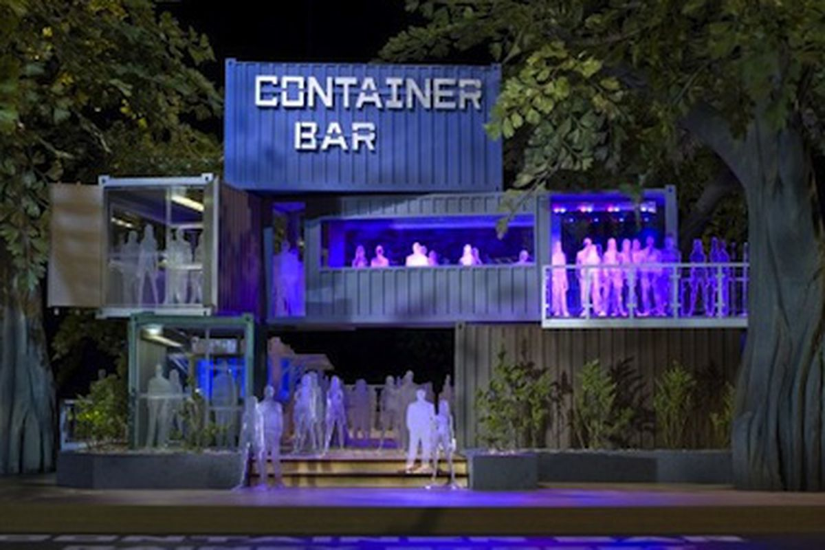 Container Bar.