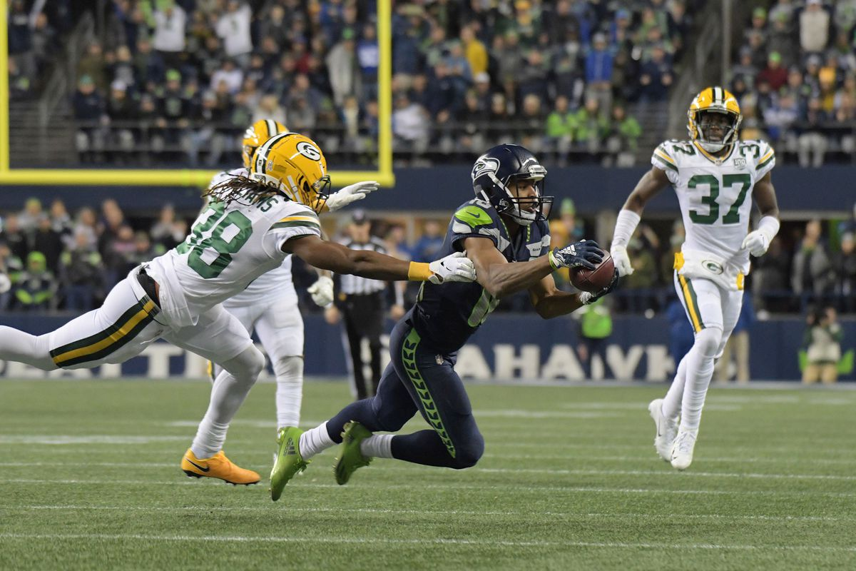 The Quietly Historic Season By Tyler Lockett Field Gulls