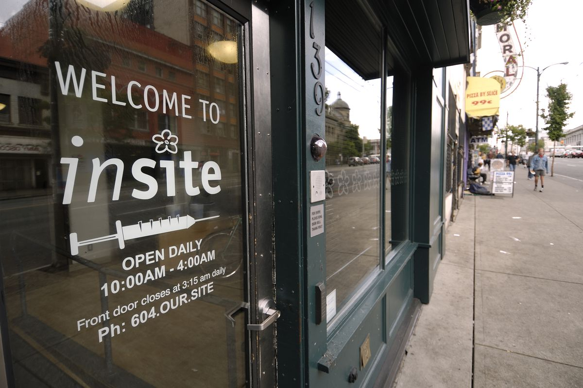 Insite in Vancouver, Canada, is one of the most widely cited supervised drug consumption sites in the world.