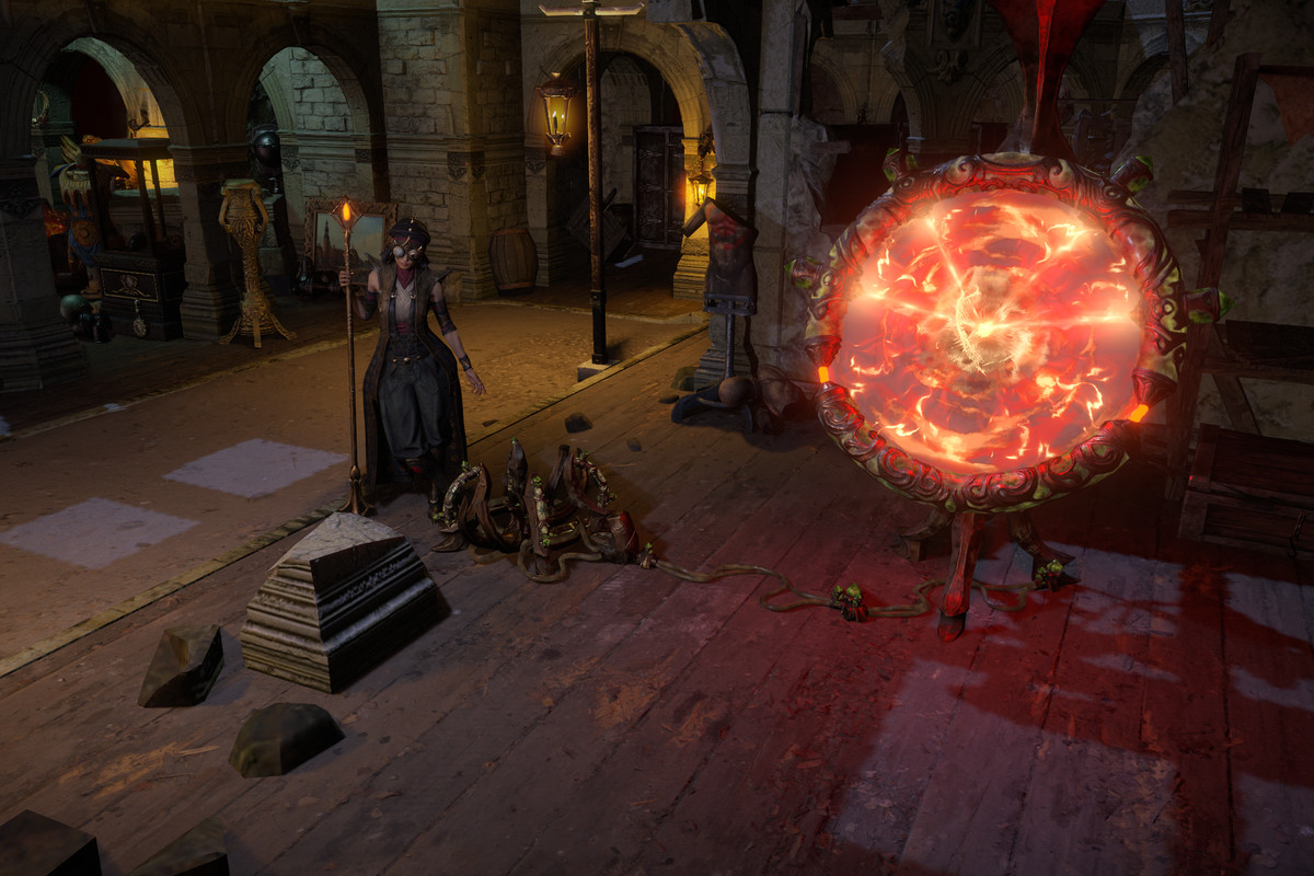 Path of Exile: Heist town