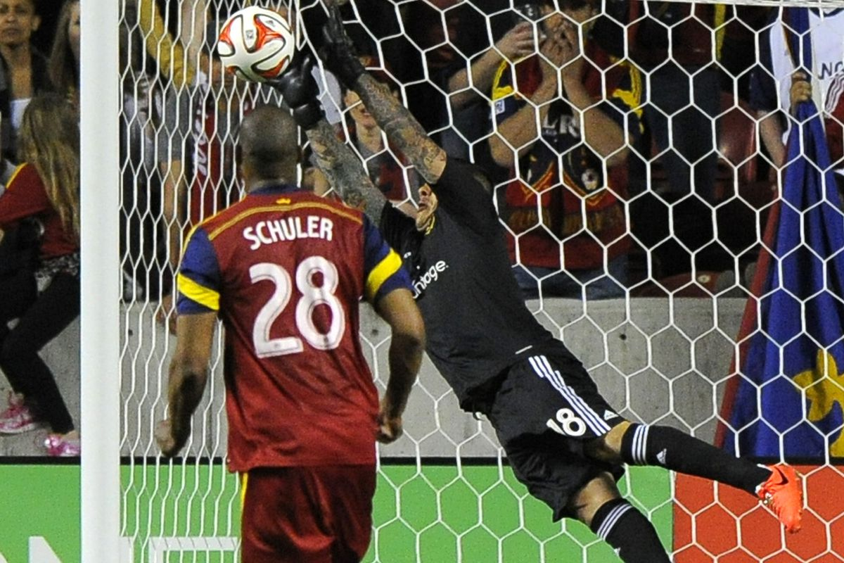 Remember this guy? After missing two games, Nick Rimando was spectacular in his return Saturday.