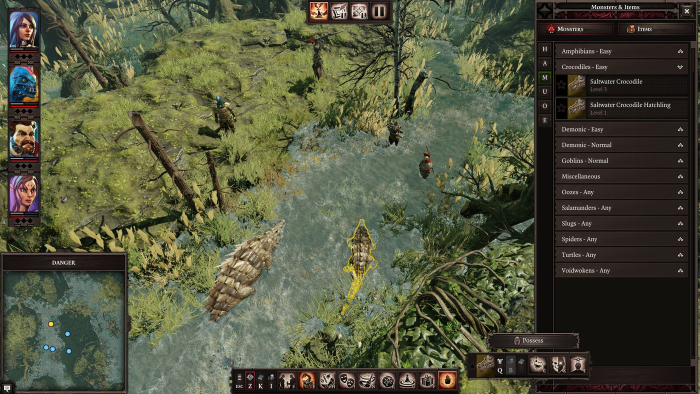 Divinity: Original Sin 2's Game Master Mode replicates