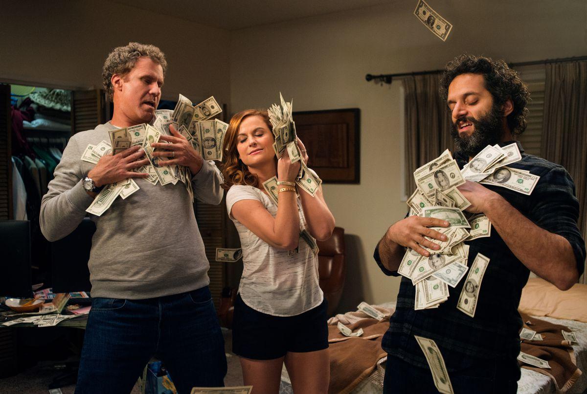 "Will Ferrell, Amy Poehler, Jason Mantzoukas in ""The House."" | Warner Bros."