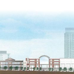 This artist's rendering shows how City Creek Center on Salt Lake's Main Street will look after construction is finished.