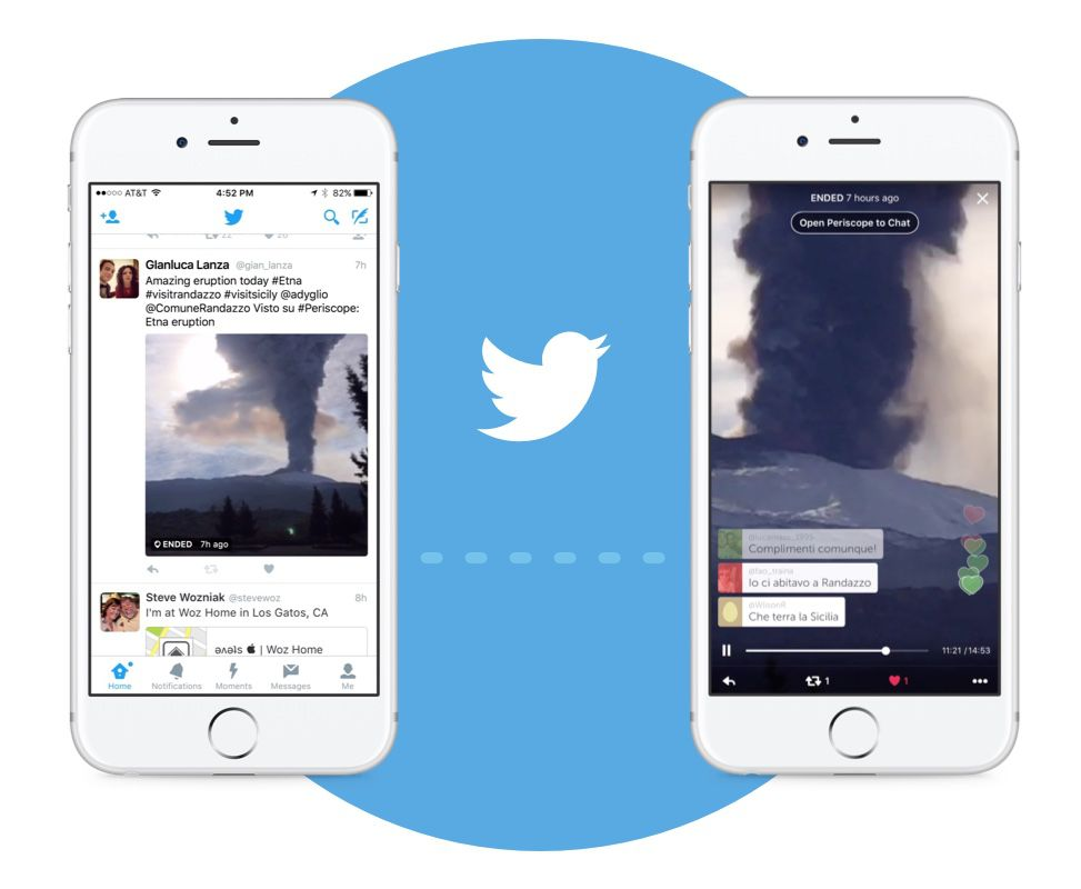 You can now broadcast live video from the Twitter app - The