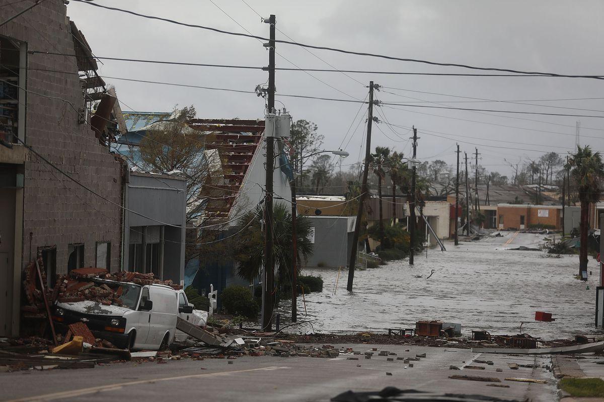 Photos: Hurricane Michael rips through the Florida Panhandle