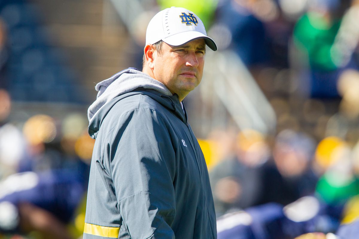 mike elston notre dame football recruiting