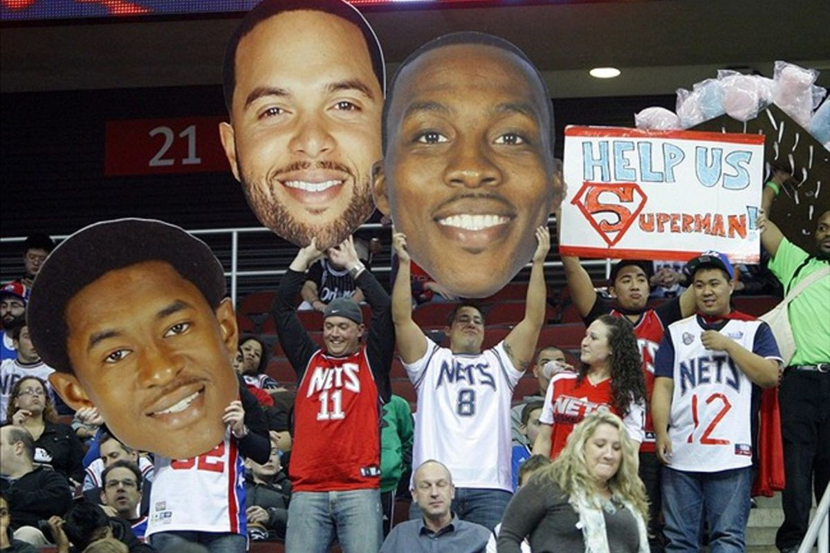 Deron Williams and Dwight Howard still could join forces in Brooklyn as teammates with the Nets. Credit: Jim O'Connor-US PRESSWIRE